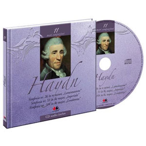 Joseph Haydn, Mari compozitori, Vol. 11 [Carte + Audio CD]