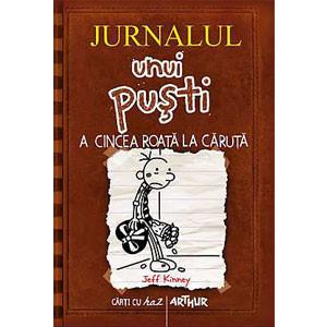 Jurnalul Unui Puști. Vol. 7. A Cincea Roată la Căruță [Copertă Tare]