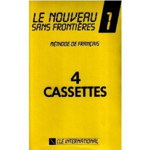 Le Nouveau Sans Frontières  Niveau 1, pour la classe (coffret 4 cassettes)