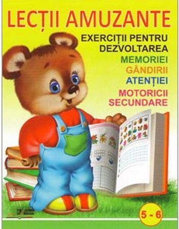 Lecții Amuzante 5 - 6 Ani