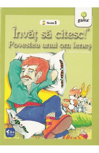 Învăț să Citesc! Povestea unui om leneș. Nivelul 1