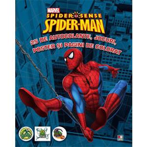 Spider-Man. 25 de Autocolante, Jocuri, Poster şi Pagini de Colorat