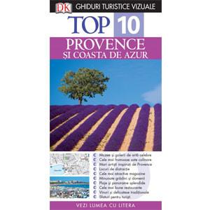 Top 10. Provence și Coasta de Azur. Ghid Turistic Vizual. Ediția a III-a
