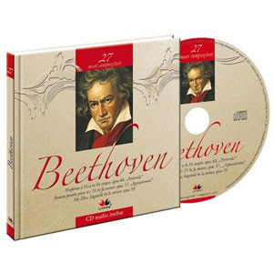 Ludwig van Beethoven, Mari compozitori, Vol. 27 [Carte + Audio CD]