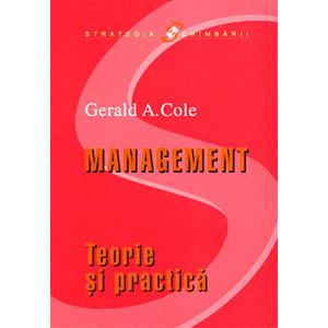 Management. Teorie şi Practică