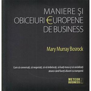 Maniere și Obiceiuri Europene de Business