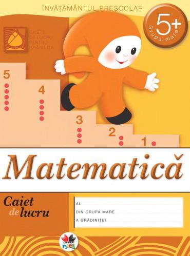 Matematica. Grupa mare 5+. Caiet de Lucru