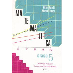 Matematica: Cl.5-a: Probe de Evaluare: Concursuri de Matematică