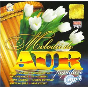 Melodii de Aur. Populare 2 [MP3 CD]