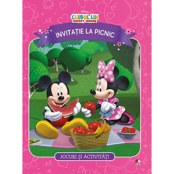 Disney. Clubul lui mickey mouse. Invitatie la picnic