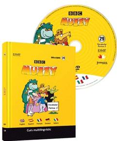 Muzzy. Curs multilingvistic pentru copii (Carte, DVD și CD). Vol. 29