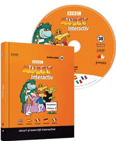 Muzzy. Curs multilingvistic pentru copii (Carte, DVD și CD). Vol. 30