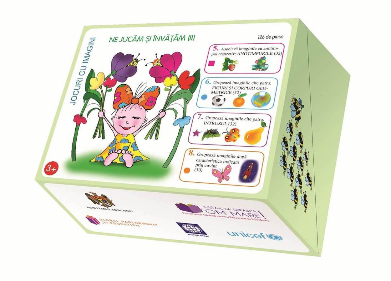 Jocuri cu imagini. Ne jucăm și învățăm II – Anotimpuri, corpuri și figuri
