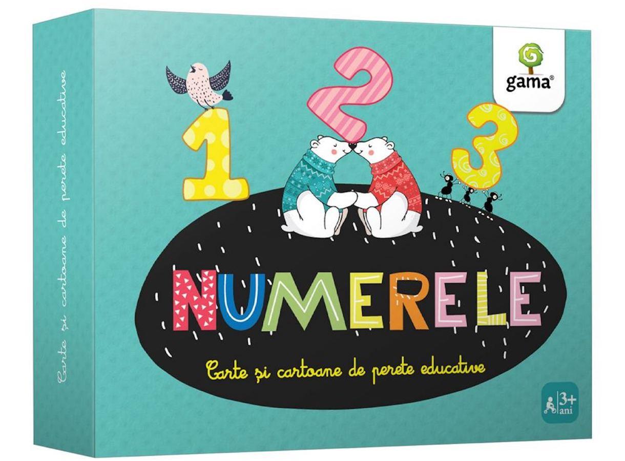 Numerele. Cartoane de perete educative și decorative