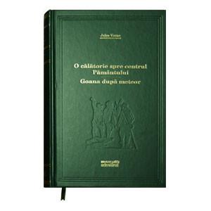 Biblioteca Adevărul, Vol. 40. O călătorie spre centrul Pământului. Goana dupa meteor