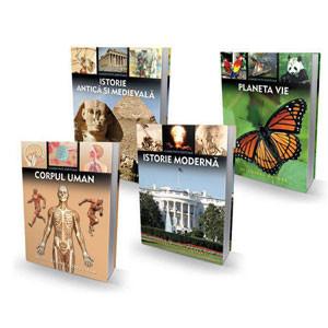 Pachet: Cunostințe Esențiale pentru Elevi.  4 Volume