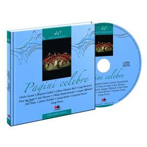 Pagini celebre, Mari compozitori, Vol. 40 [Carte + Audio CD]