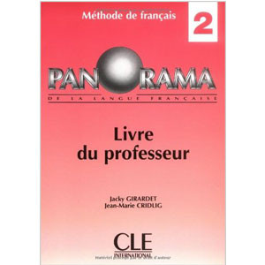 Panorama (livre du professeur), niveau 2  Méthode de français