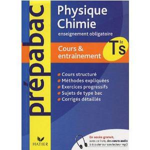 Physique-Chimie Tle S  Enseignement Obligatoire
