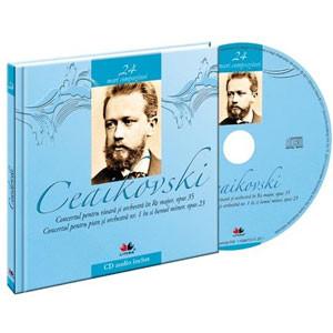 Piotr Ilici Ceaikovski, Mari compozitori, Vol. 24 [Carte + Audio CD]