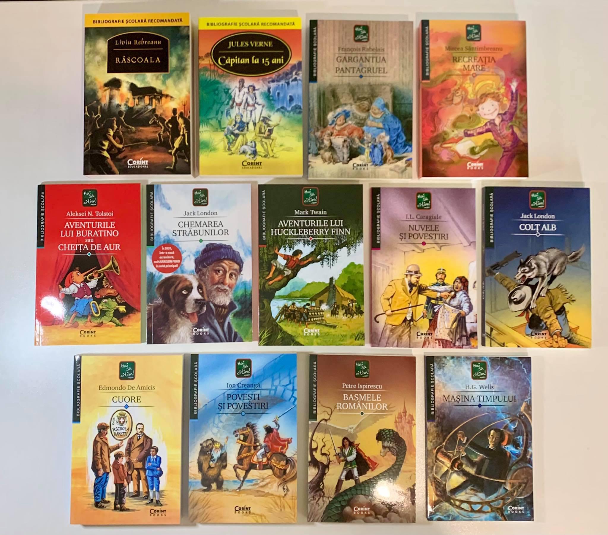 """Colecția """"Hai să citim"""" Bibliografie Școlară"""