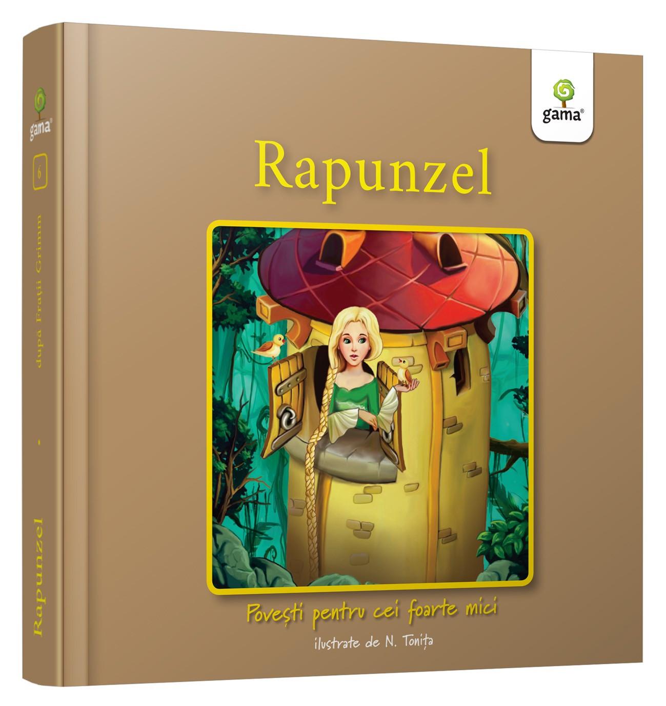 Rapunzel. POVEŞTI PENTRU CEI FOARTE MICI