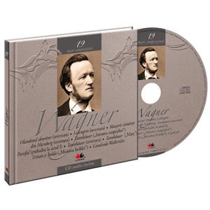 Richard Wagner, Mari compozitori, Vol. 19 [Carte + Audio CD]