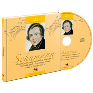 Robert Schumann, Mari compozitori, Vol. 23 [Carte + Audio CD]