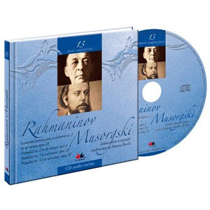 Sergei Rachmaninov si Modest Pietrowicz Musorgski, Mari compozitori, Vol. 13 [Carte + Audio CD]