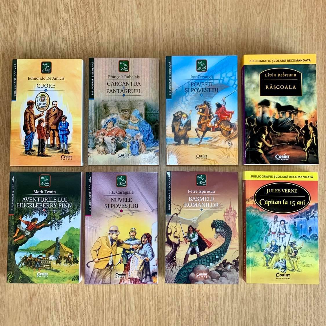 """Colecția """"Hai să citim"""" Lecturi de vacanță"""
