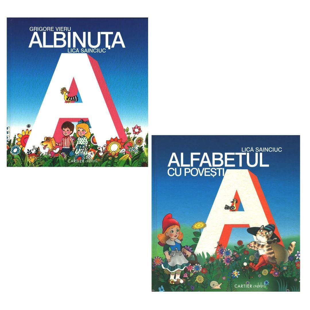 """Pachet Promoțional """" Albinuța"""" și """"Alfabetul cu Povești"""""""
