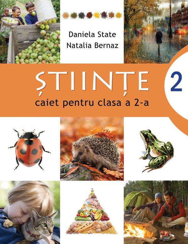 Științe - caiet pentru clasa a 2-a