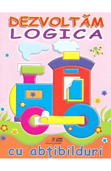 Dezvoltam logica cu abtibilduri: Locomotiva
