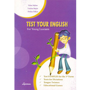 Test Your English. Test Samples For the 3rd Form