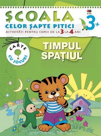 Timpul. Spațiul. Activități pentru copiii de la 3 la 4 ani