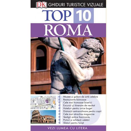 Top 10. Roma. Ghid turistic vizual
