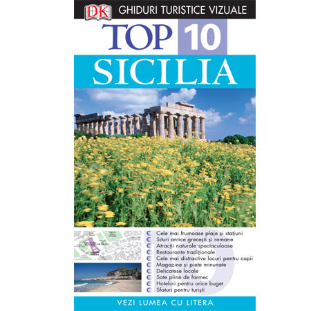 Top 10. Sicilia. Ghid Turistic Vizual