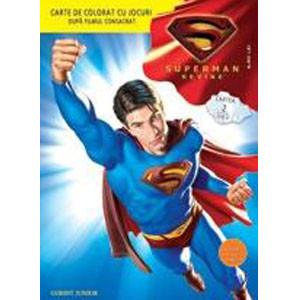 Superman revine! - Carte de colorat cu jocuri 2