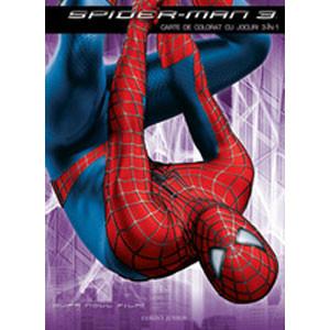 Spider-Man 3 - Carte de colorat cu jocuri 3 in 1