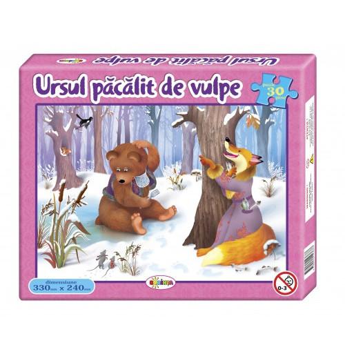 Puzzle Ursul păcălit de vulpe 30ps