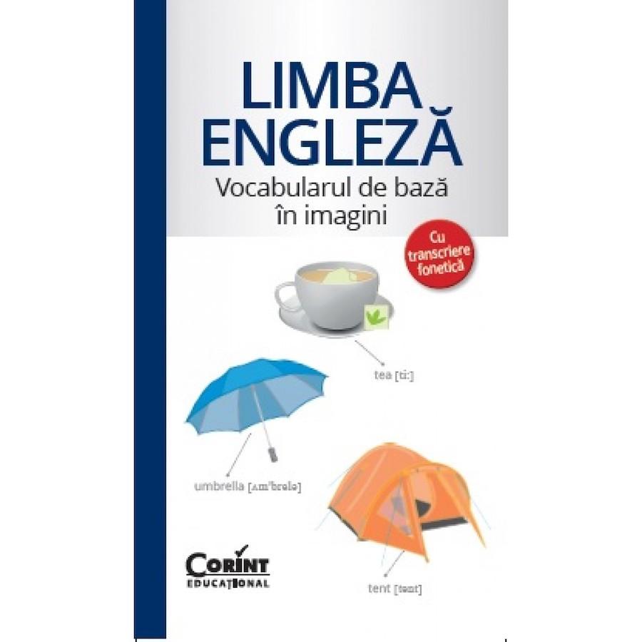 Limba Engleză - Vocabularul de bază în imagini cu transcriere fonetică