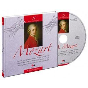 Wolfgang Amadeus Mozart, Mari compozitori, Vol. 15 [Carte + Audio CD]