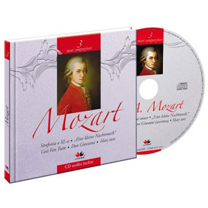 Wolfgang Amadeus Mozart, Mari compozitori, Vol. 3 [Carte + Audio CD]