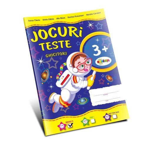 Jocuri - Teste - Ghicitori 3+