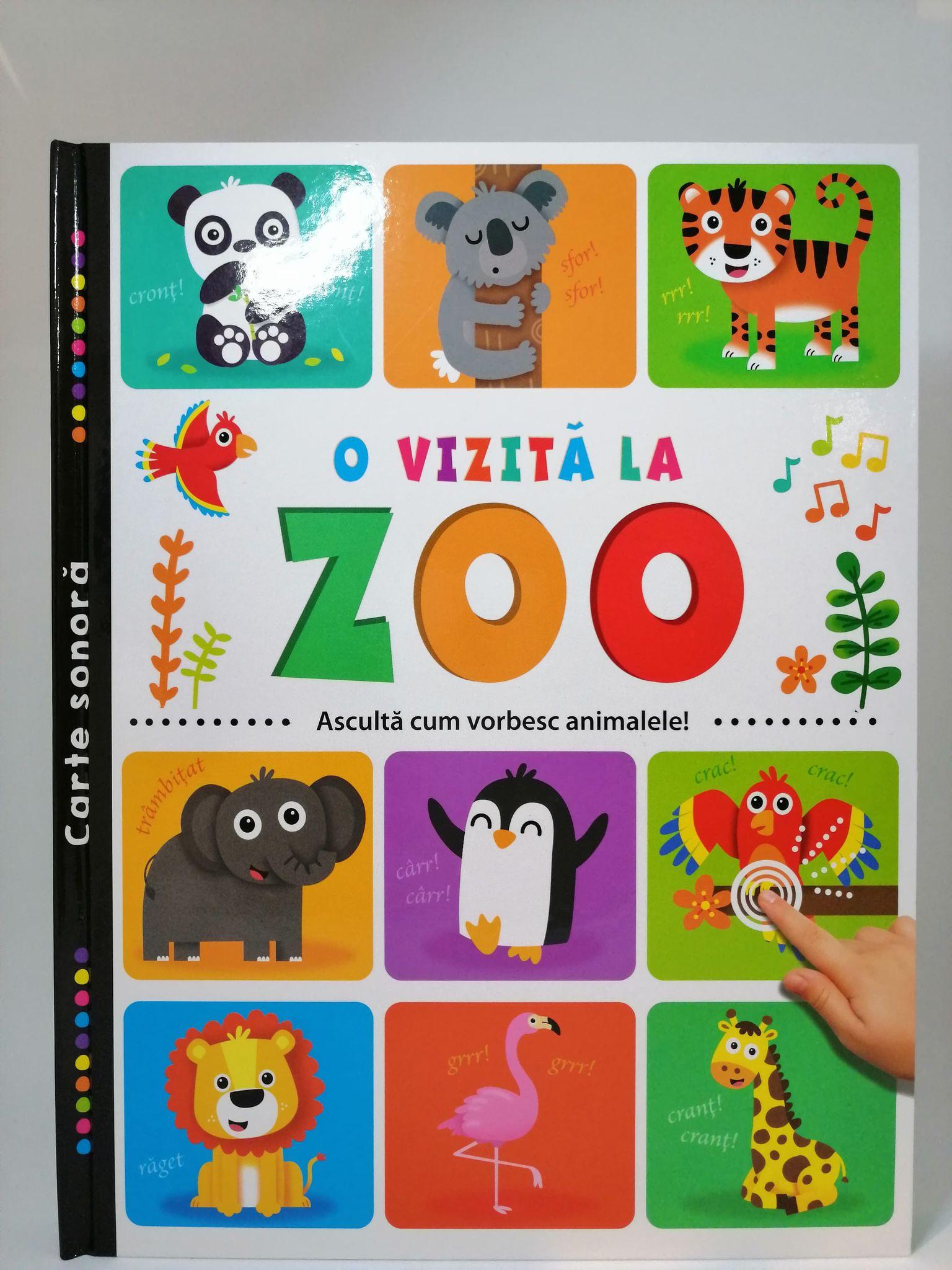 O vizită la zoo. Ascultă cum vorbesc animalele!