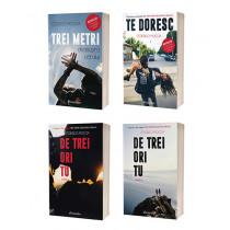 """Pachet Promoțional Seria de 4 cărți """"Trei metri deasupra cerului"""""""