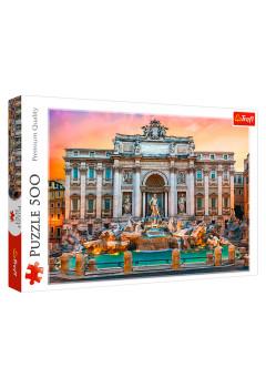 """TF Puzzle """"500"""" - """"Fontanna di Trevi,Rome"""""""
