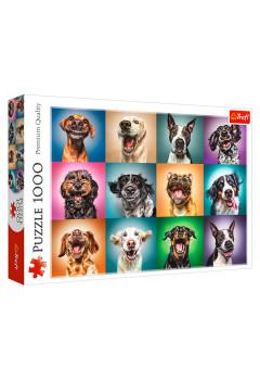 "TF Puzzle ""1000"" - Funny dog portraits"