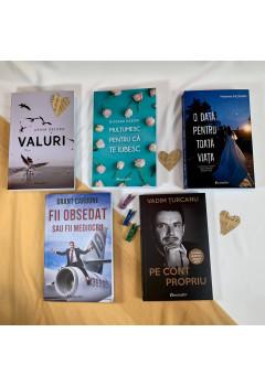 """Pachet Promoțional """"Noutățile Editurii Bestseller"""" Super Reducere"""