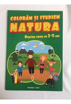 Colorăm și studiem natura Pentru copii de 2-4 ani